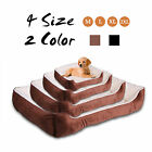 Super Soft Fleece Dog/Puppy/Cat/Pet Bed Cushion Basket Mat Waterproof Washable