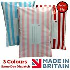 Blue Red Pink Candy Stripe Mailing Postal Packaging Bags Strong Self Seal
