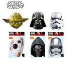 NEW Official Star Wars Yoda, Darth Vader or Stormtrooper Fancy Dress Face Mask