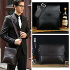 New Men's PU Leather Briefcase Mens Business Messenger Shoulder Bag