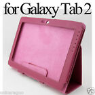 Flip Leather Case Stand Cover Stylus For Samsung Galaxy Tab 2 10.1 P5100 P5110
