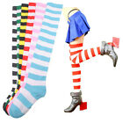 Striped THIGH HIGH SOCKS Over Knee Girls Womens Halloween Cosplay New Nice Gift