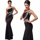 FREE SHIP Long Prom Dress Mermaid Party Bridesmaid Evening Masquerade Gown Dress