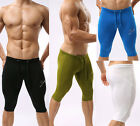 New Men's Cycling Bike Fitness Gym Cropped Shorts Tight Pants Swimwear Trunks