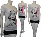 New PLUS SIZE Marilyn Monroe Forever Star w/Pink Letter T-Shirt 1XL,2XL,3XL