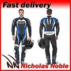 RST TRACTECH EVO II 1415 MENS Blue ONE PIECE 1PC LEATHER RACE SPORTS BIKE SUIT