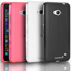 Frosted Matte TPU Gel Soft Protective Case Cover Skin For Microsoft Lumia 640