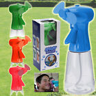PORTABLE HAND HELD POWER BOTTLE FAN SPRAY WATER SWEAT BLUE ORANGE PINK GREEN