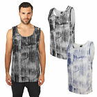 Urban Classics Brush Print Big Tanktop Muskelshirt T-Shirt Top Fitness TB645