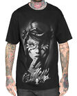 Sullen Clothing Catrina Mens T Shirt Black Skull Tattoo Goth Tee