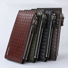 New Vertical Pockets Credit/ID Card Holder Clutch Bifold Mens Coin Purse Wallet