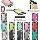 New Protective Shell Shockproof Rubber Bumper Case for iPhone 5s 6/6s 7 Plus P +