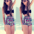 High Waisted Bikini Push up Padded Gothic Swimwear Swimsuit Wonderful Hot