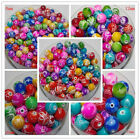 """Mixed color Illusion MIRACLE Beads Acrylic beads Spacer bead choose 8-18"""" DF756A"""