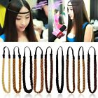 Fashion Women's Girl's Synthetic Hair Plaited Headband Bohemian Style Hair Band