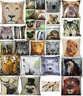 Cushion Cover Square Scatter Cushion Covers Pillow Photographic Animals New