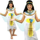 EGYPTIAN QUEEN GIRLS NILE CLEOPATRA FANCY DRESS SMALL MEDIUM LARGE COSTUME
