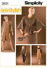 Sew & Make Simplicity 3631 SEWING PATTERN - Womens Threads COAT DRESS PANTS