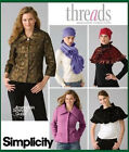Sew & Make Simplicity 4026 SEWING PATTERN - Womens JACKET CAPELETS SCARVES HATS