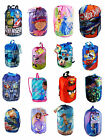 Disney Kid Sling Slumber Camping Sleeping Bag Backpack Car Mickey Princess Sofia