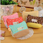 New Cute Lady Coin Key Purse Floral Canvas Coin Wallet Cosmetic Makeup Pouch CA1