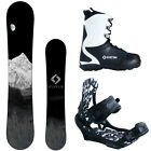 New 2016 System MTN Mens Snowboard Package +APX Bindings+APX Boots.. Ride On