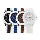 Fashion Womens Ladies Silicone Quartz Watch Analog Dress Bracelet Wrist Watch