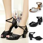 Free Shipping Brand New Women's Ballroom Latin Tango Dance Shoes heeled 5CM DJNG
