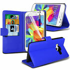 PU Leather Flip Wallet Book Case Cover, Film & Pen For Samsung Galaxy Core Prime
