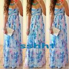 Sexy Women Summer Boho Long Maxi Evening Party Dresses Beach Sundress Size S-XXL