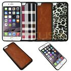 """TPU Leather Hybrid Slim Hard Back Case Bumper Cover For Apple iPhone 6 Plus 5.5"""""""