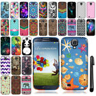 For Samsung Galaxy S4 I9500 I9505 I337 Cute Design TPU SILICONE Case Cover + Pen