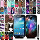 For Samsung Galaxy S4 mini I9190 Cute Design TPU SILICONE Soft Case Cover + Pen