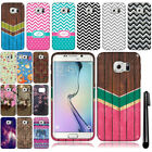 For Samsung Galaxy S6 Edge G925 Cute Design TPU SILICONE Rubber Case Cover + Pen