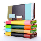 PU Flip Leather Pouch Cover for Apple iPhone 5 iphone5s Wallet Case