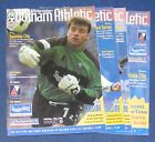 OLDHAM ATHLETIC HOME PROGRAMMES 2000-2001