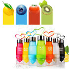 700ml Drink Sports Bicycle Infusing Infuser Fruit Lemon Juice Make Water Bottle