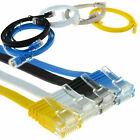 FLAT Ethernet CAT6 Network Cable Patch Lead RJ45 for Smart TV/PS4/Xbox Wholesale