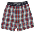 Levi's Youth Boys Woven Boxers - Blue / Red