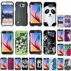 For Samsung Galaxy S6 Active Rubberized Hard Ultra Slim Pattern Cover Case