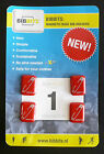 BIB BITS Magnetic Race Number Holders, No more Pins, Choice of Colours 4 in pack