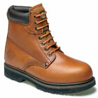 NEW MENS DICKIES CLEVELAND ANKLE SAFETY WORK BOOTS HIKER STEEL TOE CAP UK SIZE..