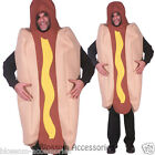 CSW20 Hot Dog Funny Food Hotdog Fancy Halloween Mens Bucks Hens Costume Outfit
