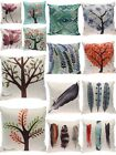 "18"" Cotton Linen Nature Sights Sofa Home Decor Throw Pillow Case Cushion Cover"