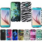 For Samsung Galaxy S6 Active Rubberized Hard Protector Case Snap On Phone Cover