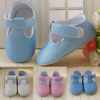 Baby Toddler T BAR Soft Sole Pram Shoes Christening Wedding Laces Size 11 12 13