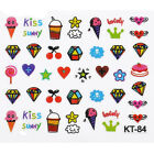 3D Mixed Design Nail Art Tips Stickers Decal Acrylic Manicure Decoration DIY New