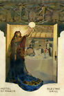HOTEL ST FRANCIS RESTAURANT ELETRIC GRILL ELECTRICITY LIGHT VINTAGE POSTER REPRO
