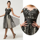 New Stock Wedding Bridesmaid Evening Party Prom Gown Dress Size 6 8 10 12 14 16+