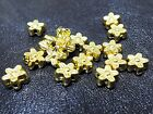 7mm 25 / 50grams OPAGUE ACRYLIC FLOWER SPACER BEADS AB84928
